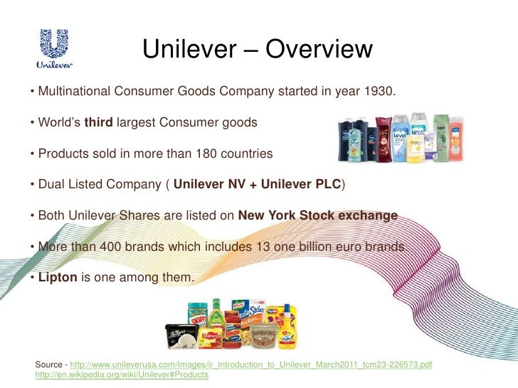 unilever company profile Unilever successstory unilever is the british- dutch multinational goods company with its headquarters in london and co-headquarters in the unilever, with.