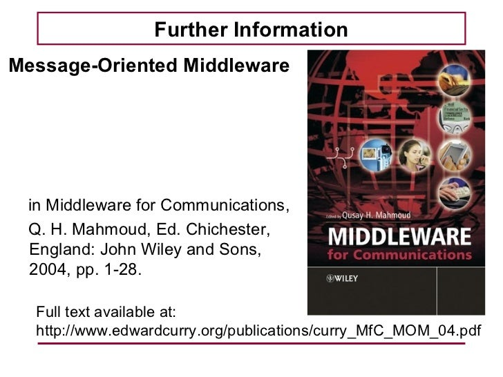Introduction to Message-Oriented Middleware Slide 2