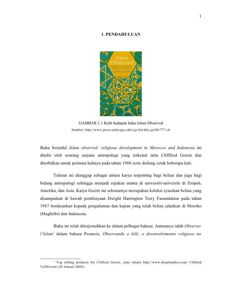 1                                          1. PENDAHULUAN                             GAMBAR 1.1 Kulit hadapan buku Islam ...