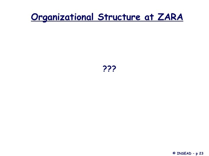 zara organizational chart Get a basic overview of organizational life cycles in this topic from the free management library.