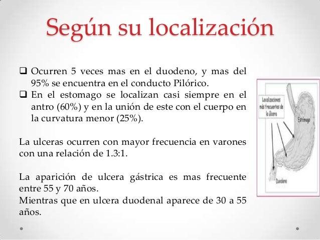 Etiología  Helicobacter Pylori.  AINE Menos del 5 al 10%  Hipersecreción acida (Síndrome de zollinger – Ellison)  Enfe...