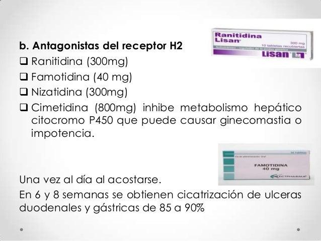 Tratamiento triple estándar  Inhibidor de la bomba de protones, oral, 2 veces al día.  Claritromicina 500mg, vía oral, 2...