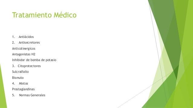 Tratamiento Quirúrgico Indicaciones  Ulceras complicadas  Sospecha de malignidad: Solo UG  Refractariedad: ind-fr  Imp...