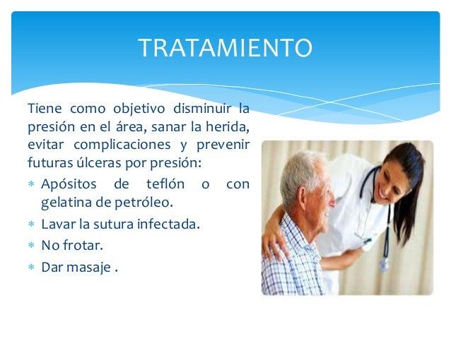  Uso de desinfectantes: yodo de  povidona.   Uso de hidrogeles (antisépticos  antifungicos),  poliuriatos(laminas adhesi...