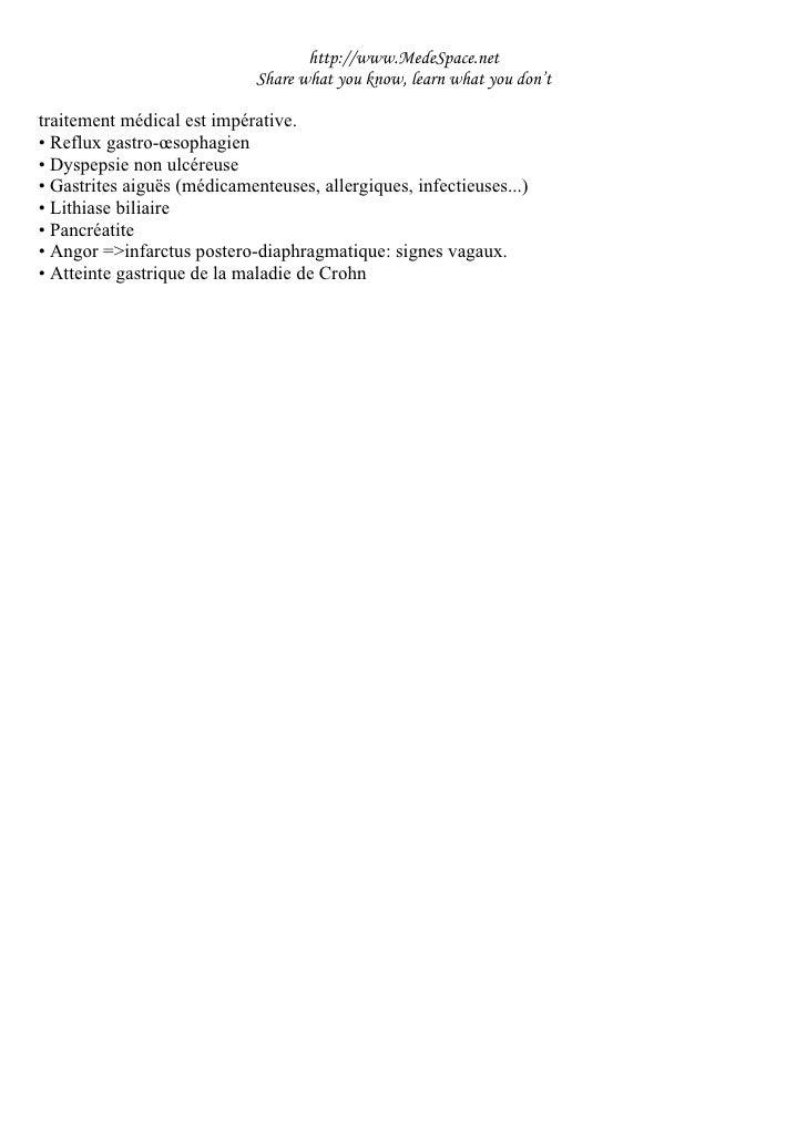 Ulcère Gastroduodénal Chronique Slide 3