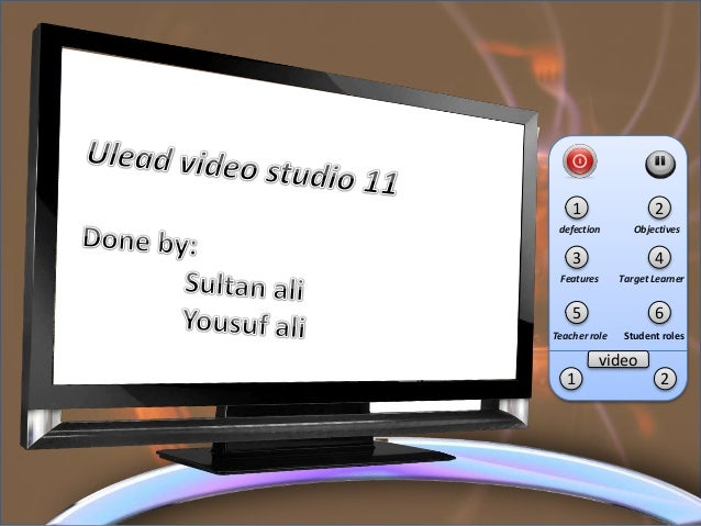 1 2 3 4 video 1 2 defection Objectives Features Target Learner 5 6 Teacher role Student roles