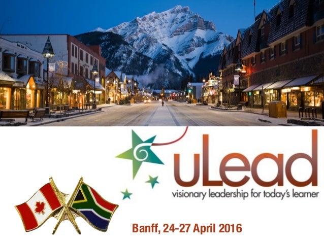 Banff, 24-27 April 2016
