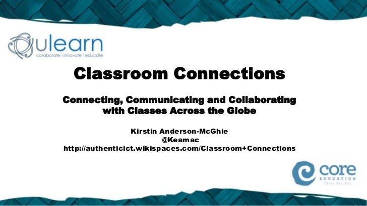 Classroom ConnectionsConnecting, Communicating and Collaborating      with Classes Across the Globe                  Kirst...