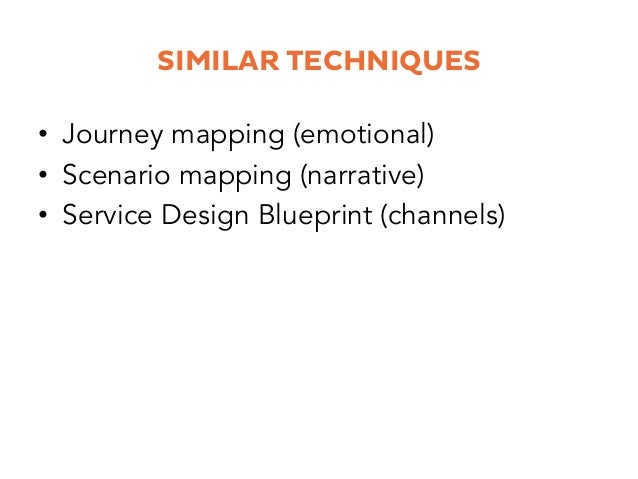 WHEN DO YOU USE JOURNEY MAPPING? • For an existing learning solution, object or service • To get an overview of all the ...