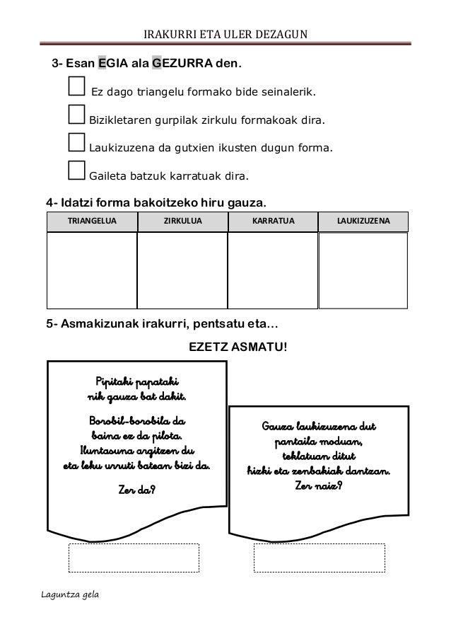 Ulermena escolar letra formak, edonon Slide 3
