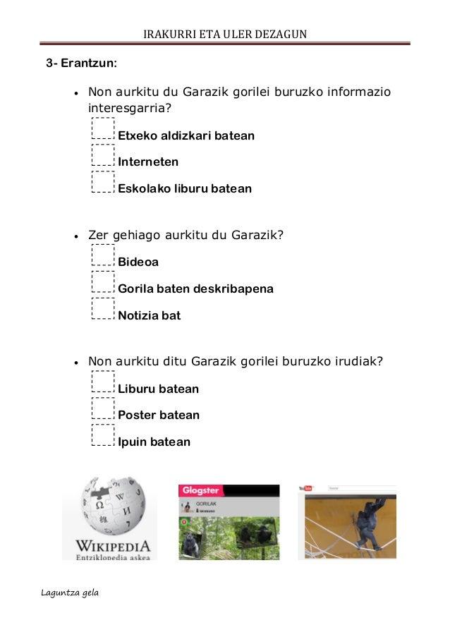 Ulermena escolar letra  posta elektronikoa Slide 3