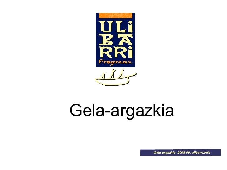 Gela-argazkia