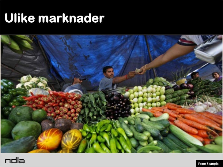 Ulike marknader                  Foto: Scanpix