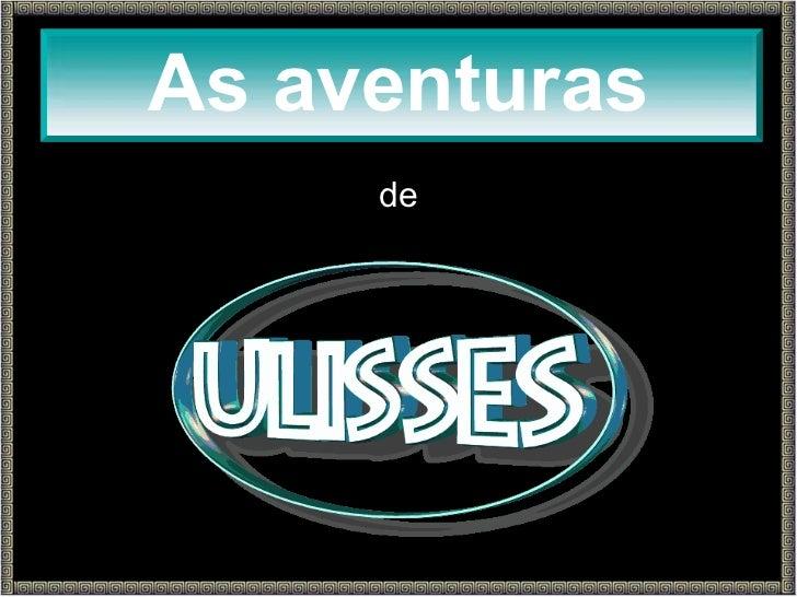 de ULISSES As aventuras