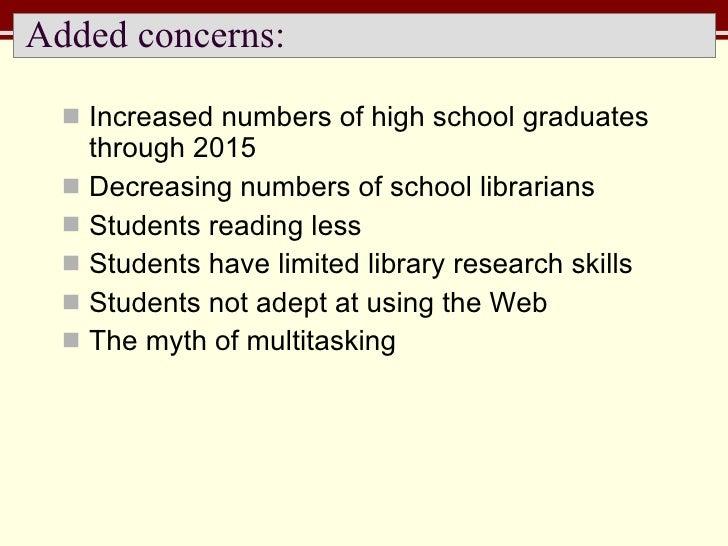 Added concerns: <ul><li>Increased numbers of high school graduates through 2015 </li></ul><ul><li>Decreasing numbers of sc...