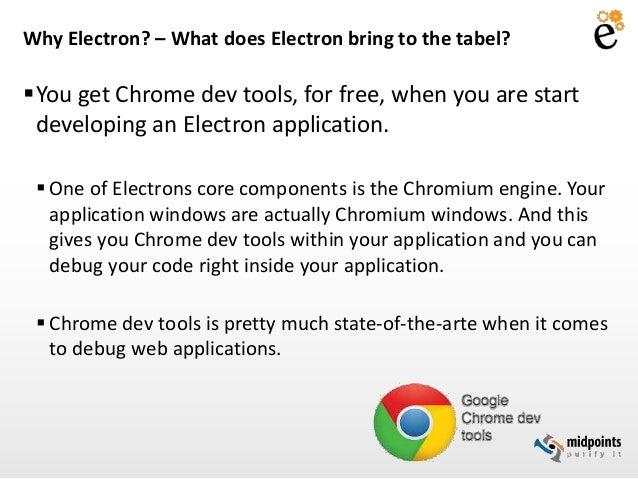 Electron - cross platform desktop applications made easy