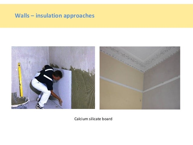 Calcium Silicate In Floors : Energy efficiency in pre historic dwellings dublin