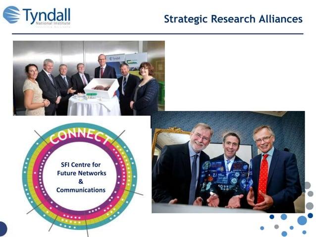 Strategic Research Alliances SFI Centre for Future Networks & Communications