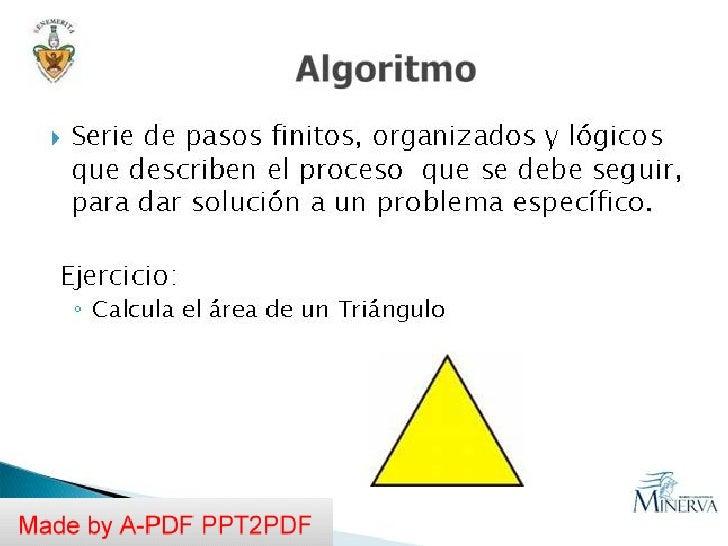 Algoritmos dia miercoles