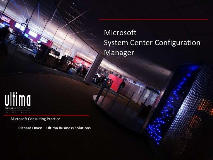 Microsoft                                               System Center Configuration                                       ...