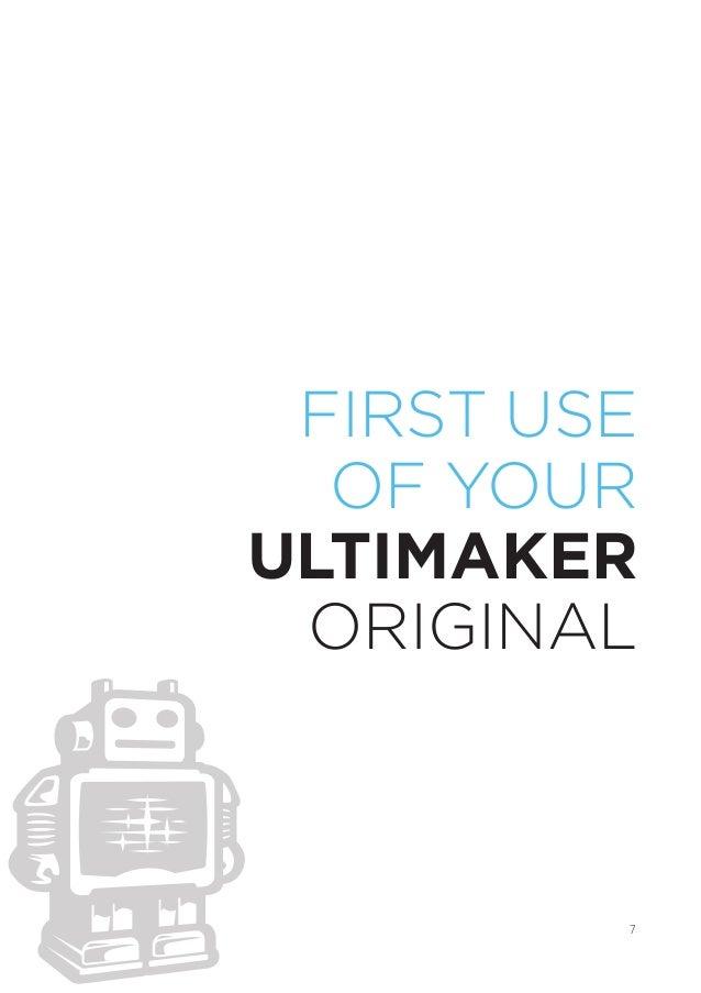 Ultimaker original user_manual