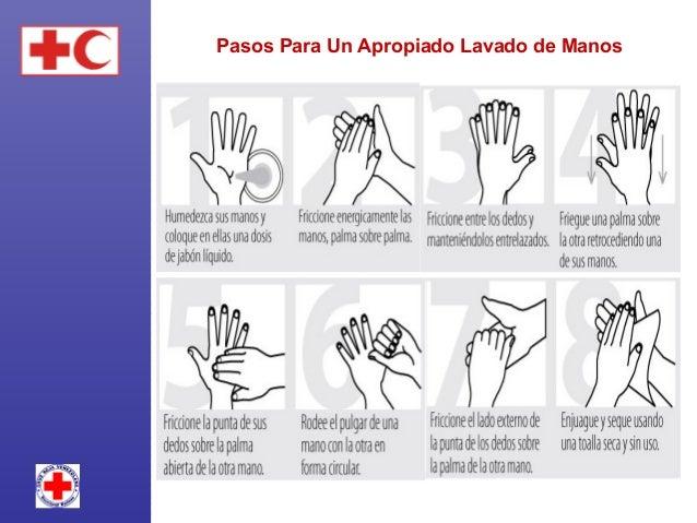 Lávese las manos ANTES de:  Preparar o ingerir alimentos. Curar una herida (suya o de otra persona). Cuidar de alguien ...