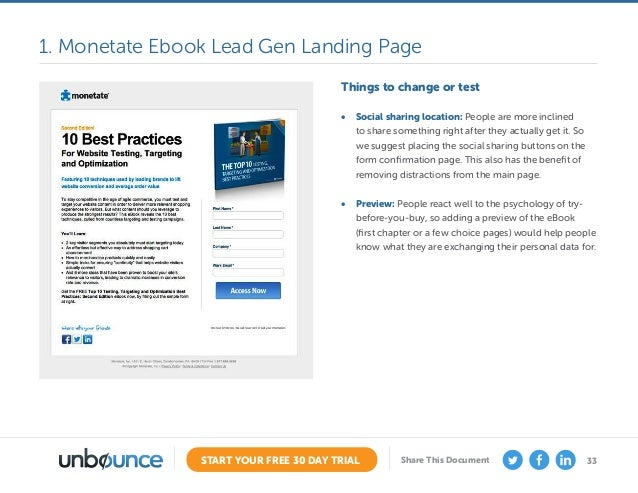 the ultimate guide to landing page optimization rh slideshare net Jeremiah Chapter 29 Verse 11 Divergent Summary Chapter 29