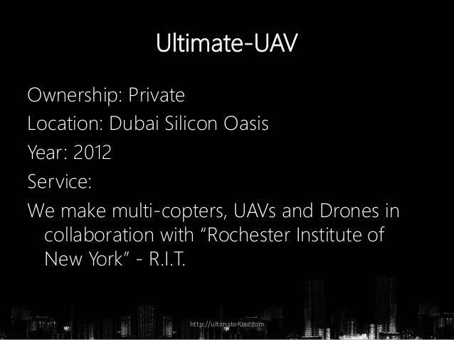 Ultimate UAV - Drone Manufacturer and Designers in Dubai Slide 2