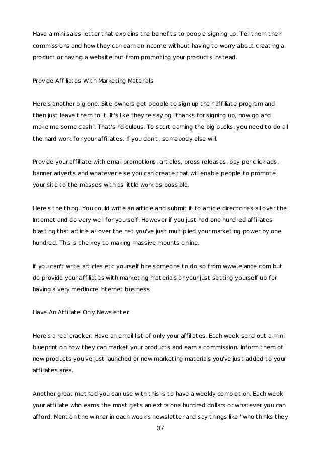 Ultimate affiliate marketing_guide_2018