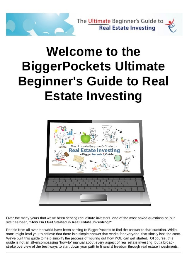 The Ultimate Beginner's Guide to Real Estate Investing from BiggerPockets.com
