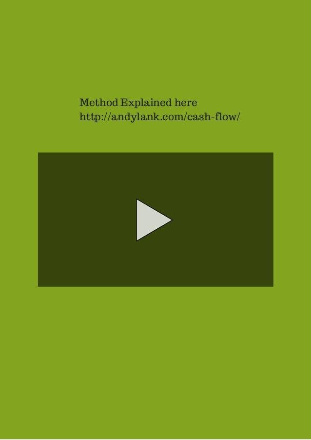 Method Explained here  http://andylank.com/cash-flow/
