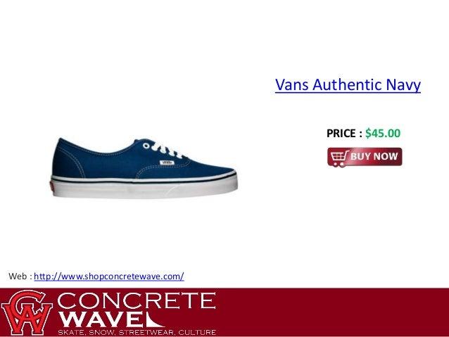 Authentic & Low Price Vans Old Skool Navy Blue Item:201534