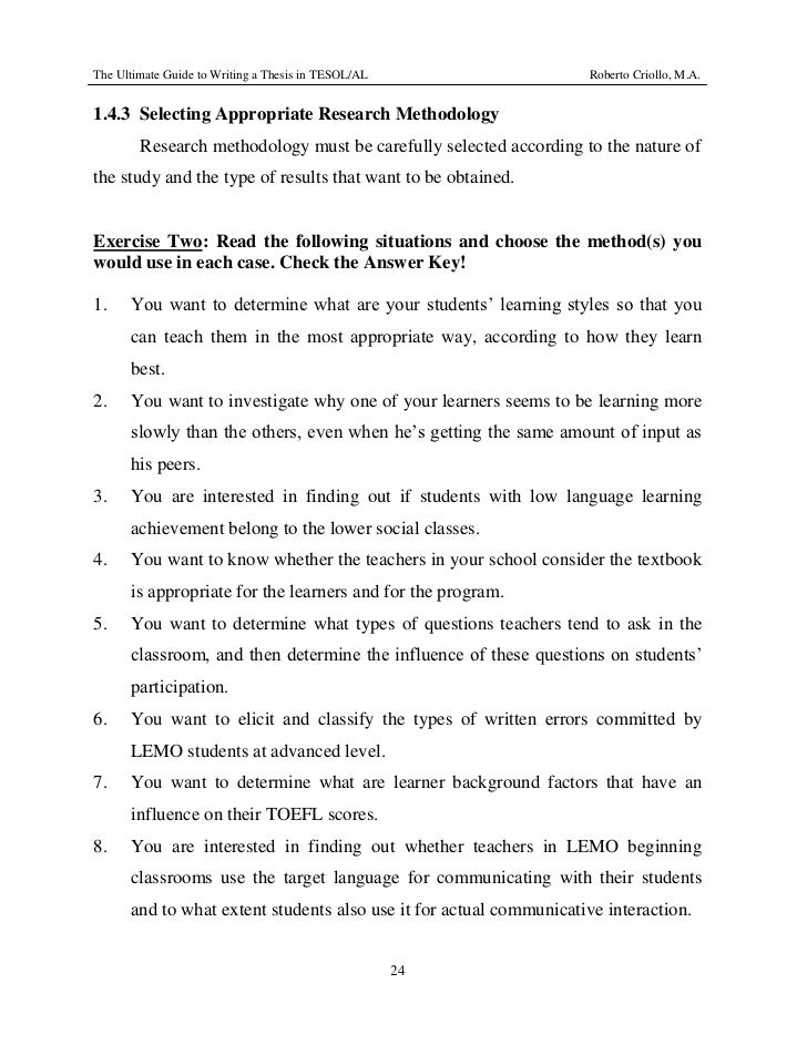 Essay On Morality Tesol Thesis Writing How To Buy Essays Online also Essay On Father Tesol Thesis Writing Essay Academic Writing Service How To Write An Essay Conclusion