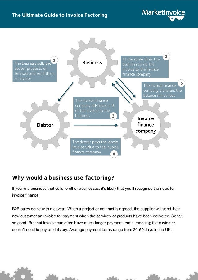 The Ultimate Guide To Invoice Factoring - Invoice factoring companies uk