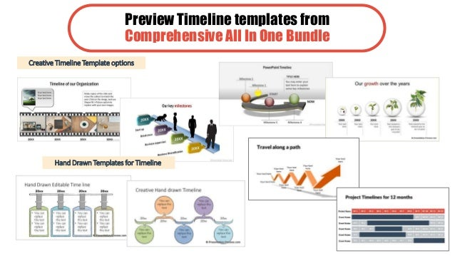 Ultimate Guide To Creative PowerPoint Timeline Graphic Ideas - Timeline graphic template