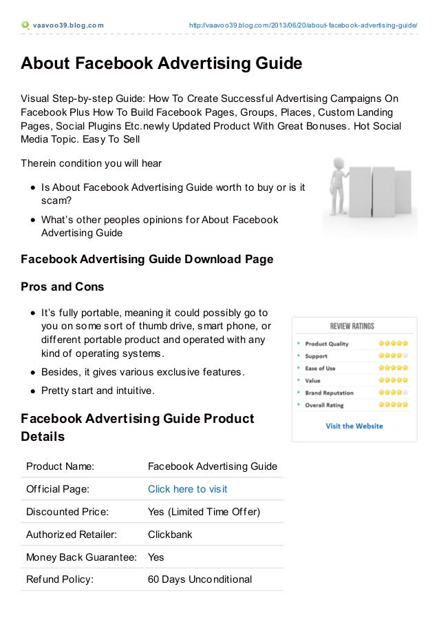 vaavoo39.blog.com http://vaavoo39.blog.com/2013/06/20/about-facebook-advertising-guide/ About Facebook Advertising Guide V...