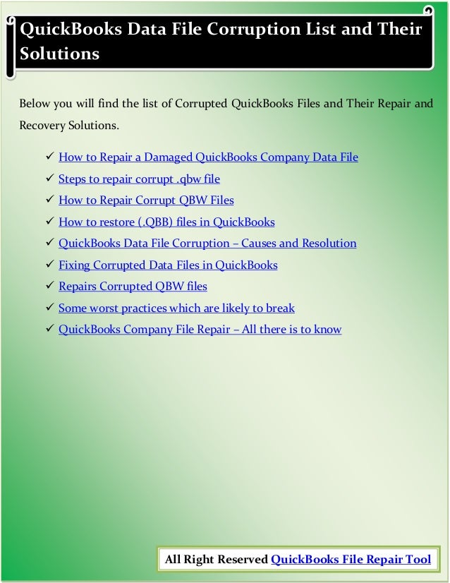 Ultimate Guide To Fix QuickBooks Errors, Issues, Problems