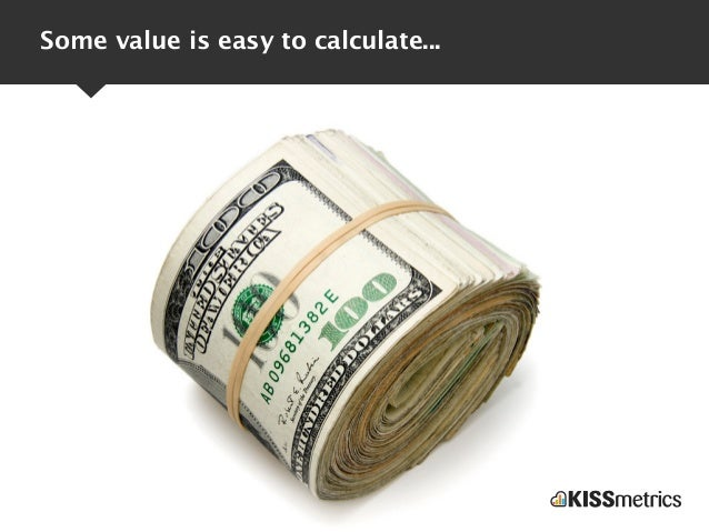 Some value is easy to calculate...