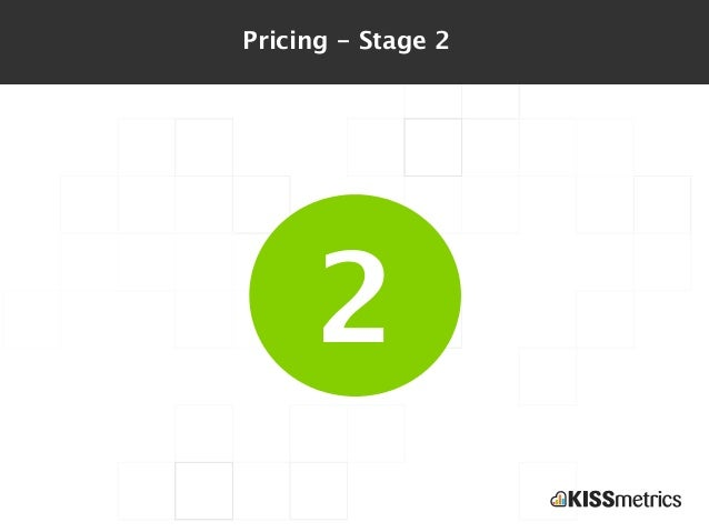 Pricing - Stage 2     2