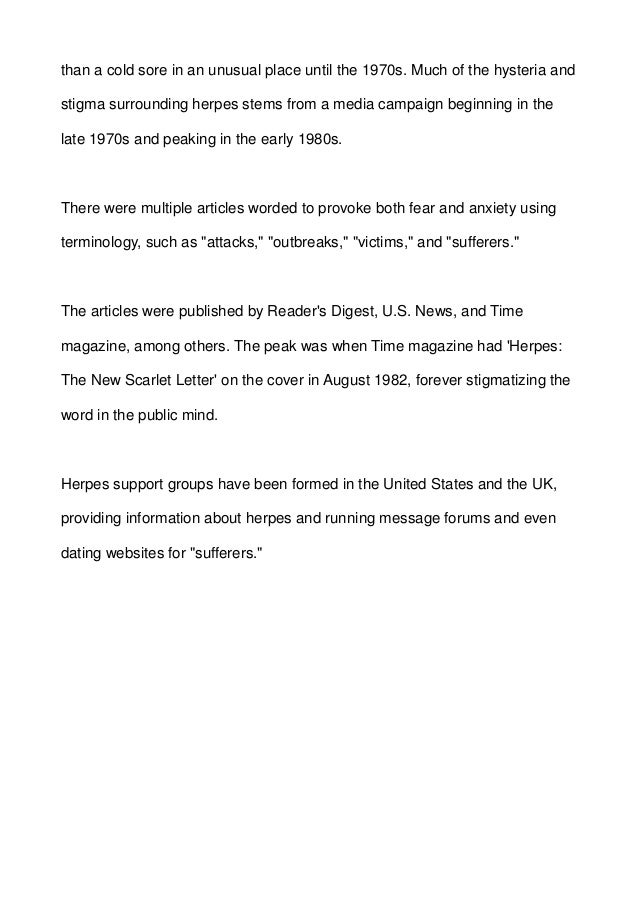 Time Magazine August 2 1982 Today's Scarlet Letter Herpes ... |Time Magazine Herpes