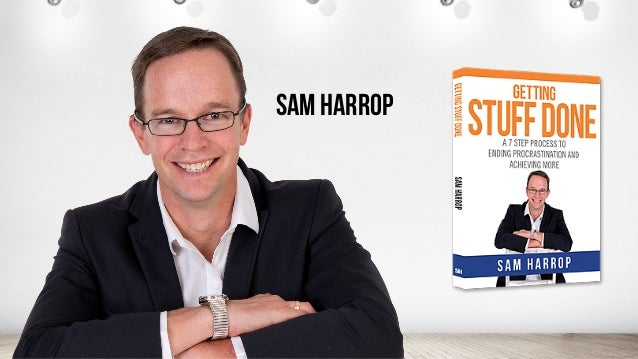 The Ultimate Productivity Webinar - with Andrew Griffiths and Sam Harrop. Slide 3