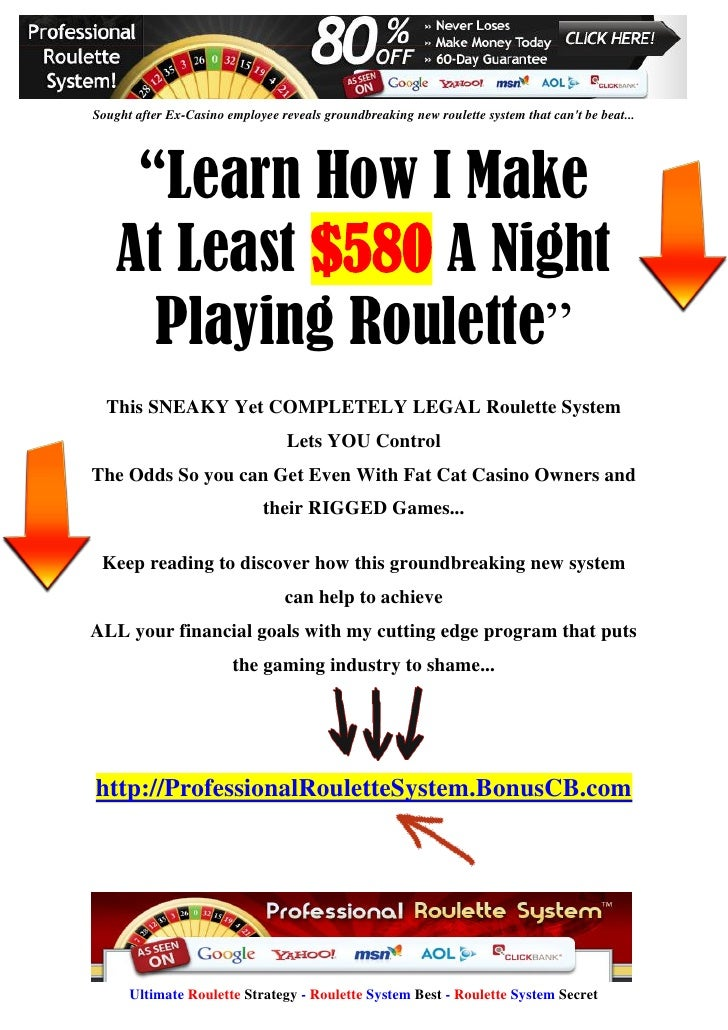 System roulette download