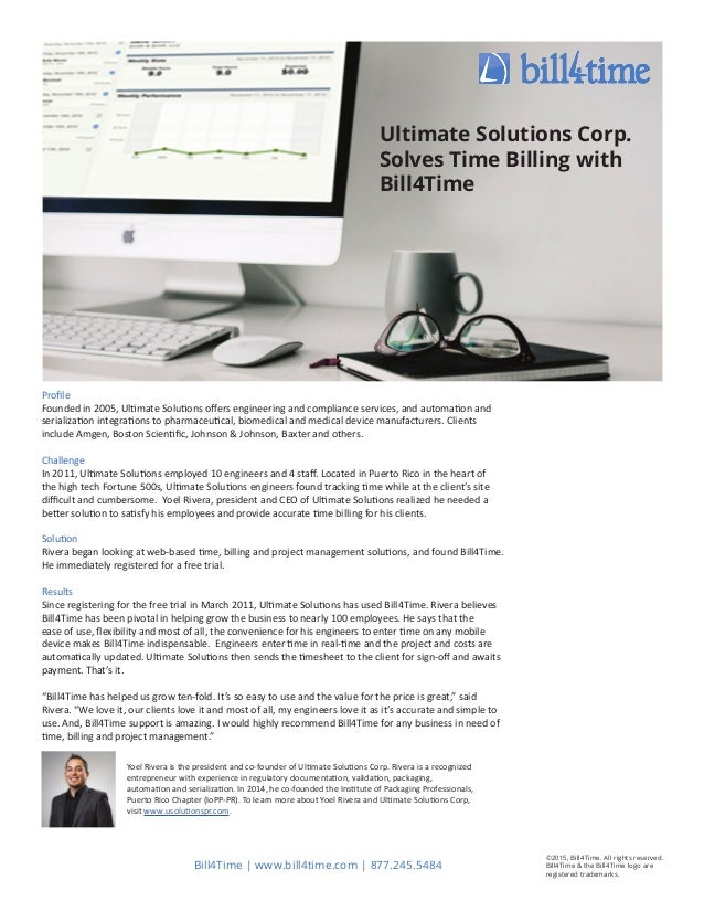 Profile Founded in 2005, Ultimate Solutions offers engineering and compliance services, and automation and serialization i...