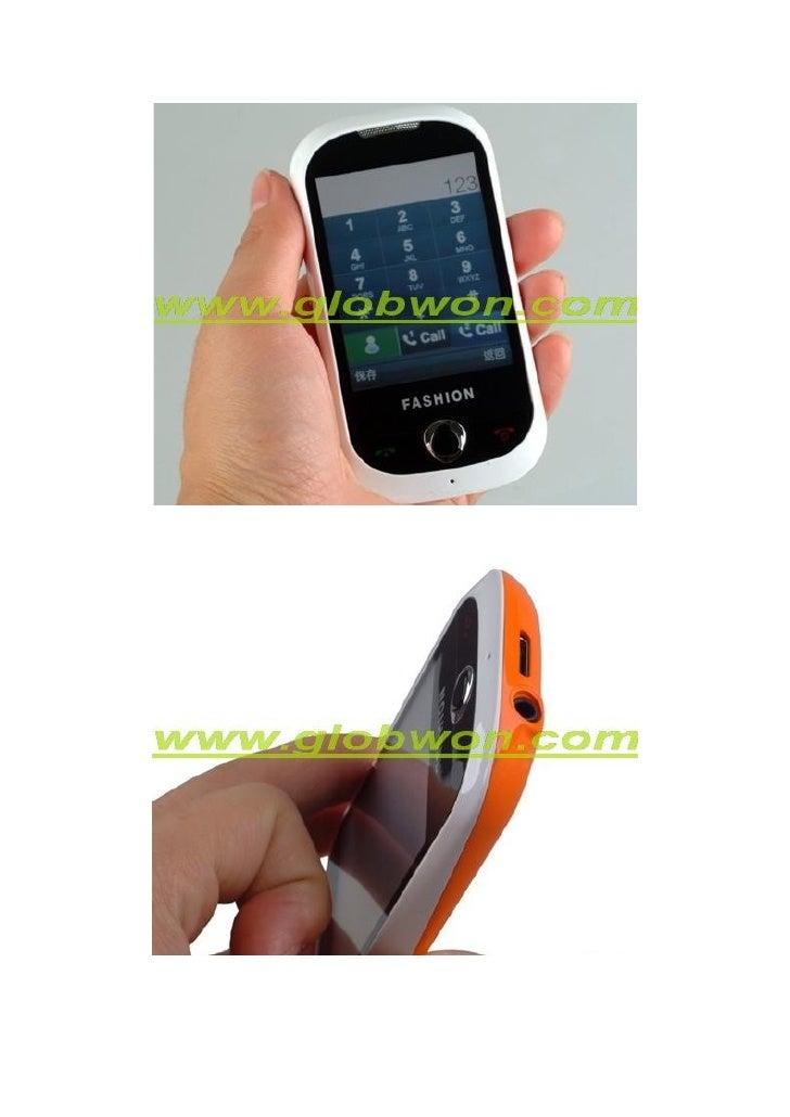 LCD Taille: 2,8 pouces, 26 millions de couleurs  PX: 240 × 320px  Ringtone format: mp3, mp4  Musique: Support MP3 backgrou...