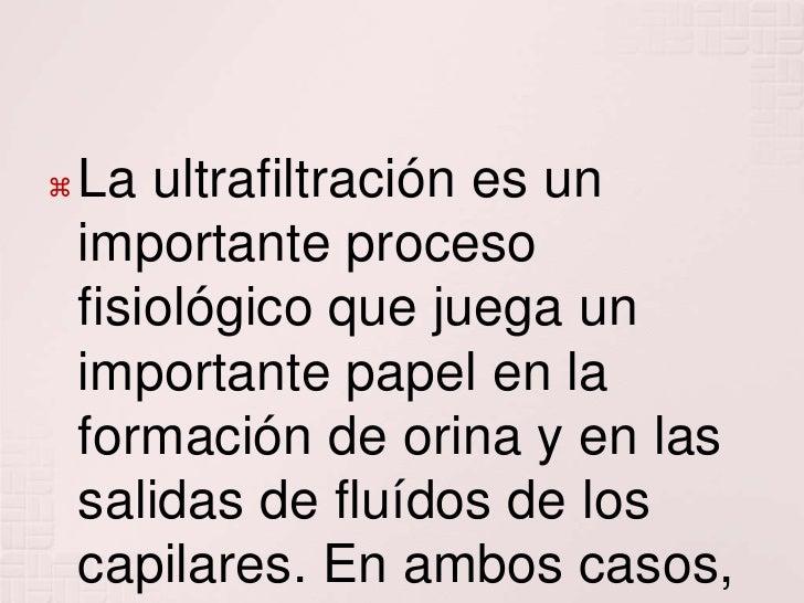 Ultrafiltrado