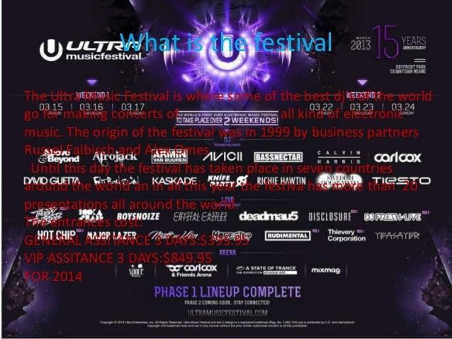 Ultra music festival Slide 2