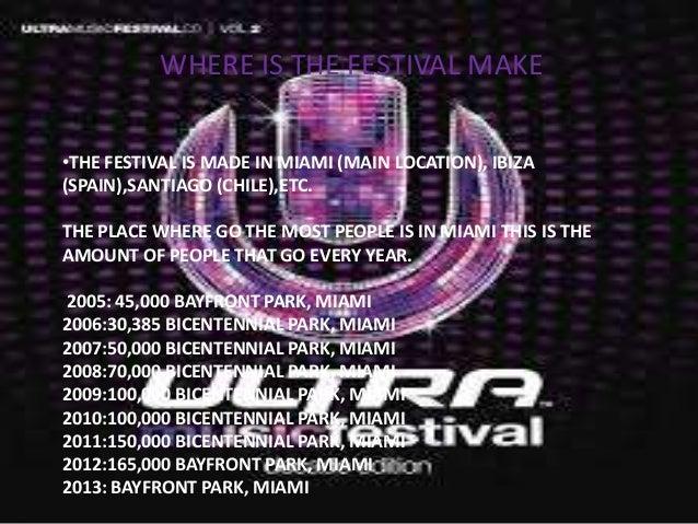 Ultra music festival Slide 3