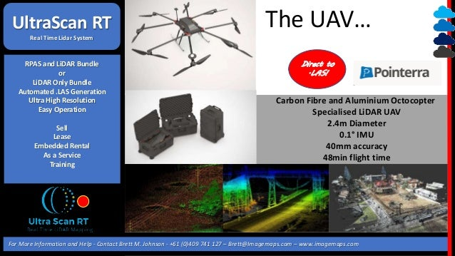 UAV LIDAR COMES OF AGE - DIRECT TO  LAS, RT FOLLOWING!