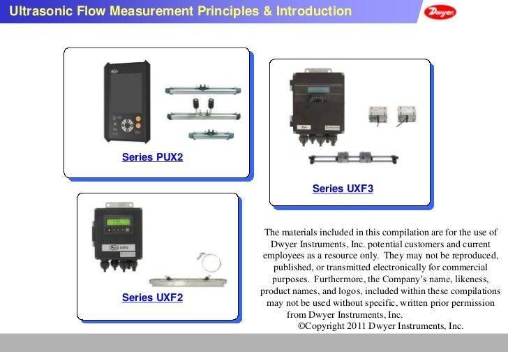 Ultrasonic Flow Measurement Principles & Introduction                 Series PUX2                                         ...
