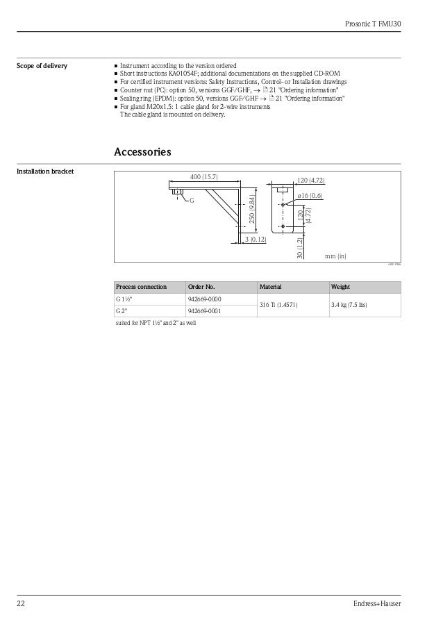 uni flange installation instructions